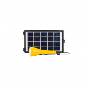 Lampe solaire multifonctions + chargeur