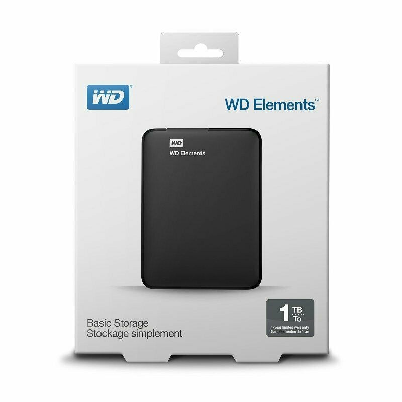 WD Elements Portable (Recertified) de WD 1T
